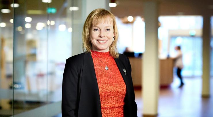 Kirke og kulturminister Joy Mogensen
