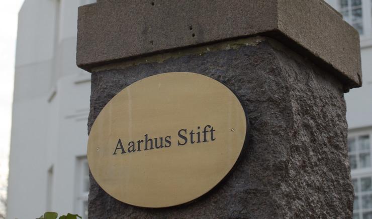 Indgangsparti til Aarhus Stiftskontor