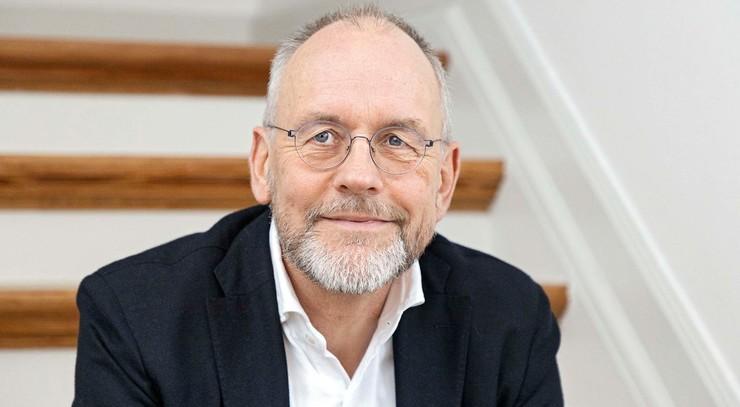 Portræt af biskop Henrik Wigh-Poulsen